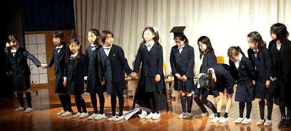 桐朋小学校の年間行事バナー